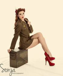 Pin Up Girl - Alexis II by SonjaPhotography