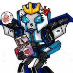 fanart- Chibi  Strongarm And Da Rules by CrystaltheEchidna