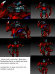 3d render- Beast Wars Inferno by CrystaltheEchidna