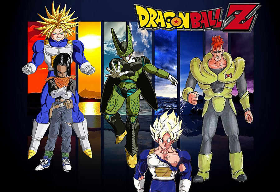 DBZ Wallpaper (Cell Saga)