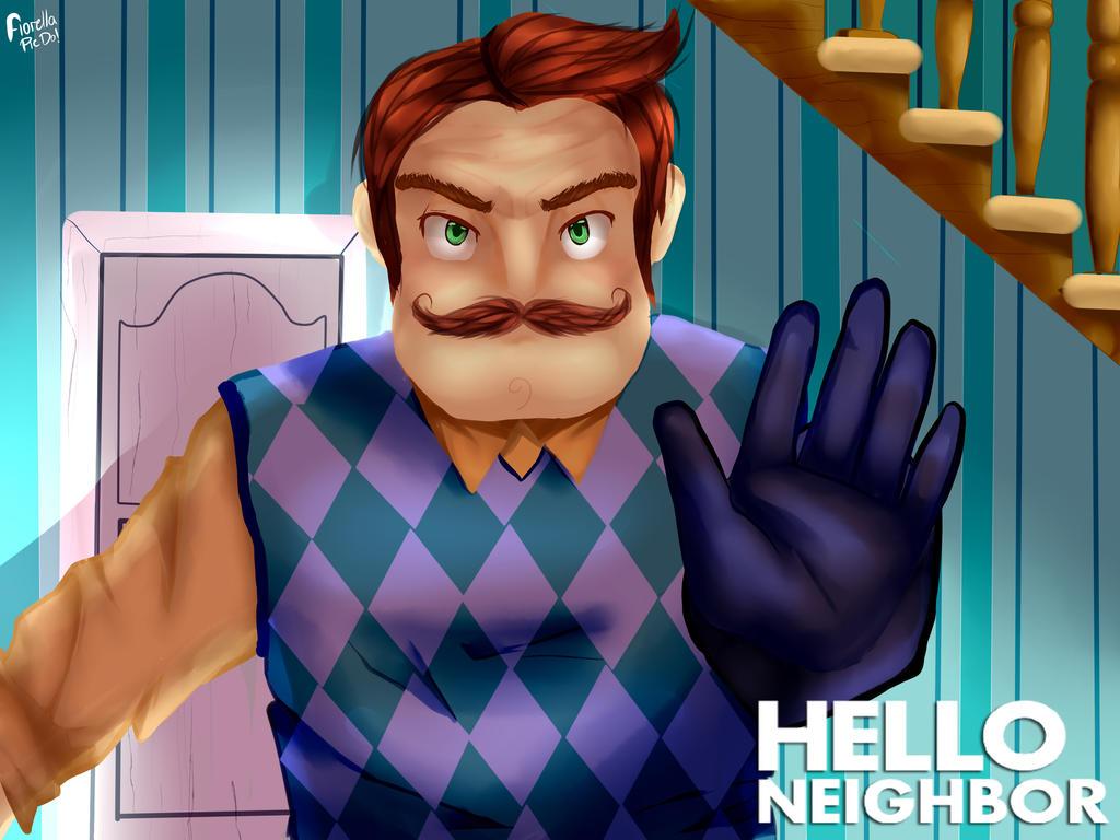 Hello Neighbor FanArt By FioreCor On DeviantArt