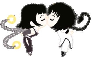 GgioSoi Chibi Kiss by superaura