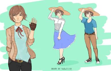 OC (Original Character): Seyuri