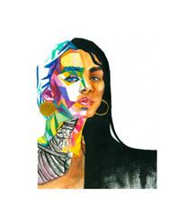 Altered Self-Portrait