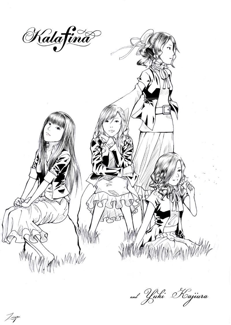 Kalafina and Yuki Kajiura