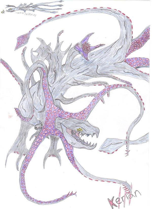 Beast of Origins, Barinollusk by Kerian-halcyon
