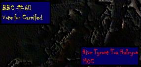 Tyranid Carnifex, BBC60, Sig by Kerian-halcyon