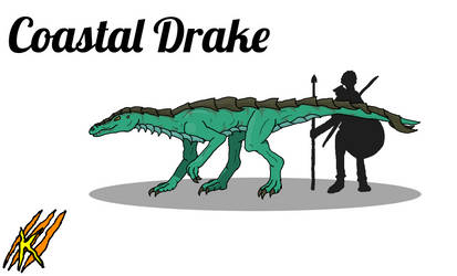 Bestiary: Coastal Drake