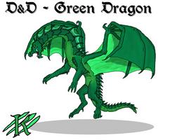 Forgotten Realms - Green Dragon