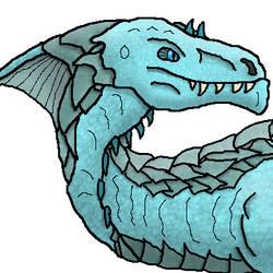 DnD - White Dragon Bust