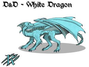 Forgotten Realms - White Dragon