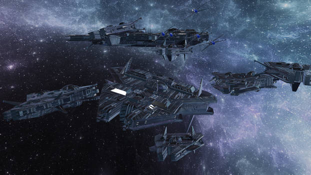 Starships in Formation