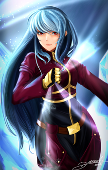 Fanart - Kula Diamon (King of Fighter)