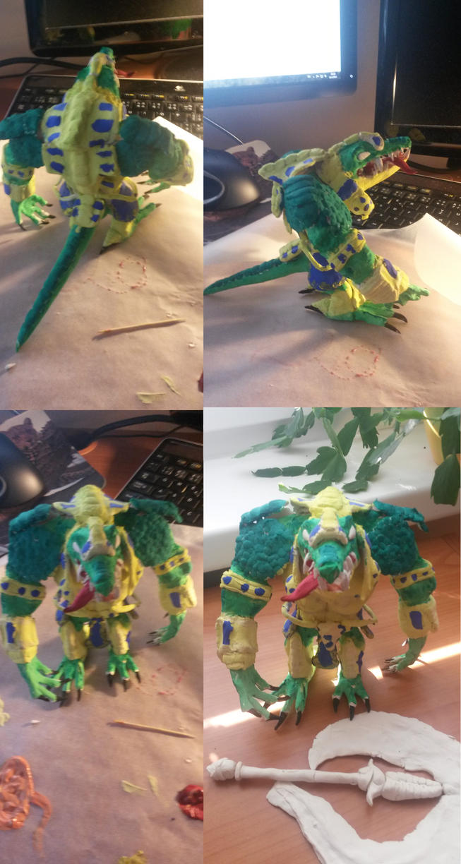 Sobek made by my bf! by Emisys