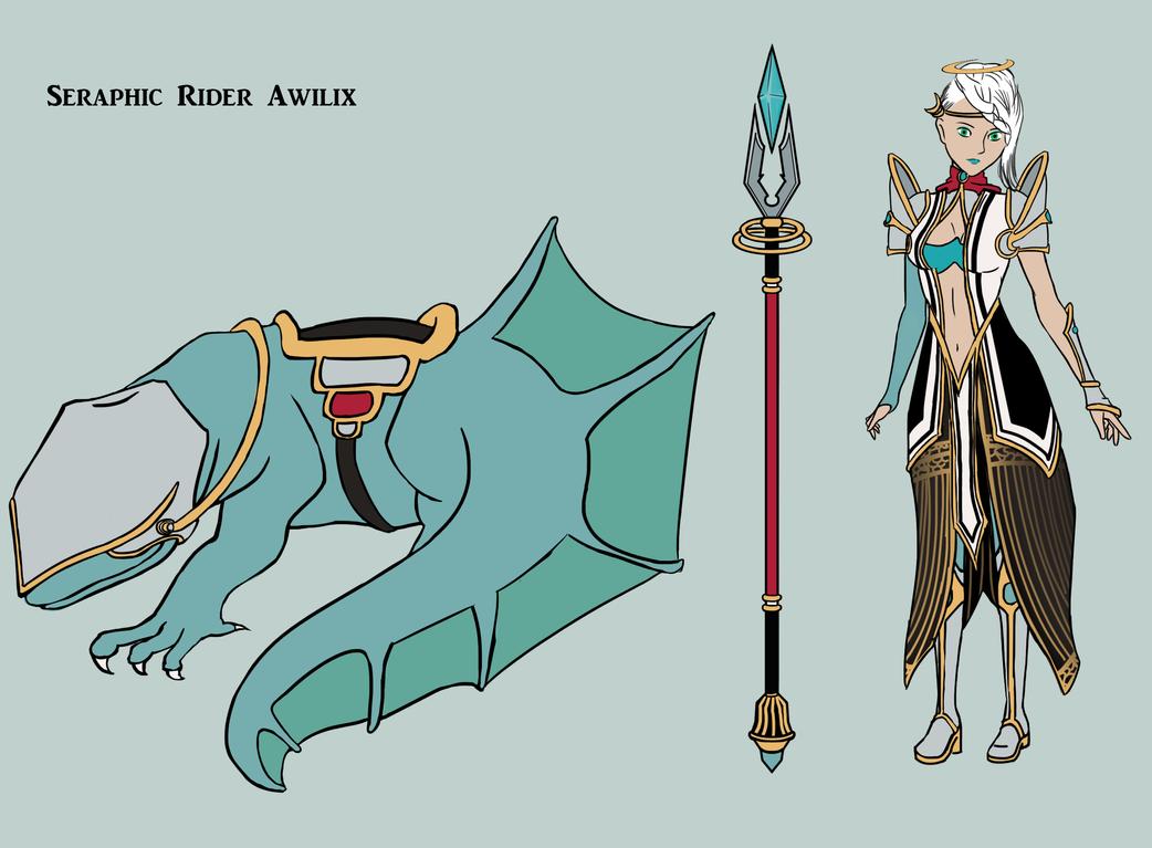 Seraphic Rider Awilix by Emisys