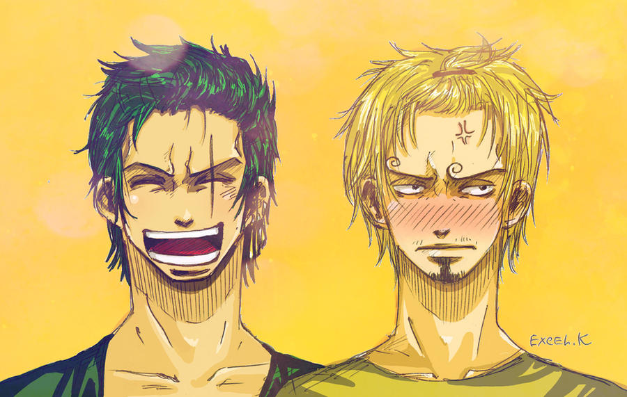 Anime/manga Fan Art Zoro_and_sanji_by_excel_k-d3kx7rp