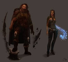 Silvernai: character concept pack 3 by noiprox