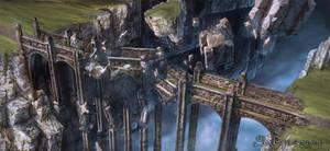 Silvernai: Flying bridge ruins