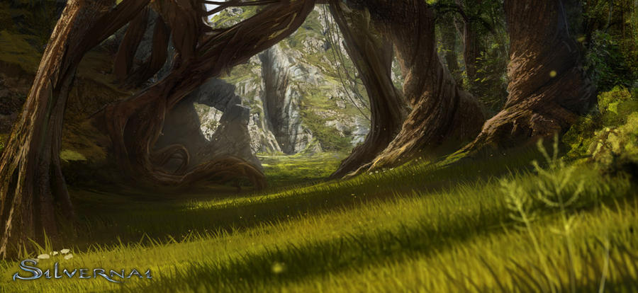 Silvernai: Forest by noiprox