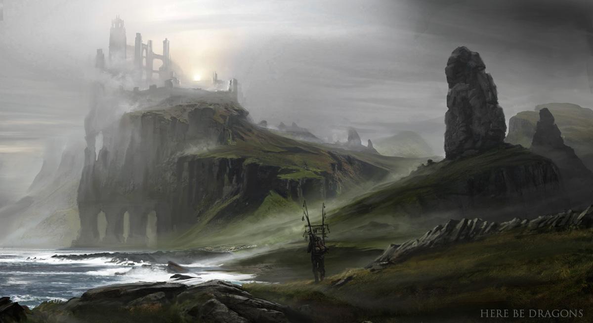 Here be Dragons - traveler