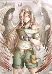 Commission: Blood Angel