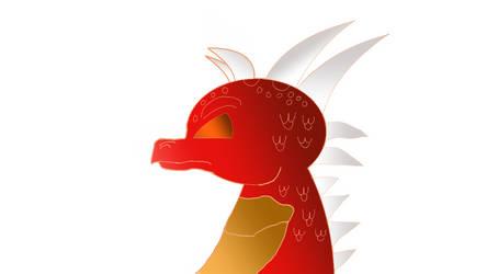 Sidehorns the Dragon