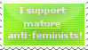 'i dunt need feminizm cuz men r superior' by Yurilys
