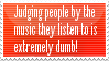 'Ur dumb cuz u listen to _______!' by Yurilys