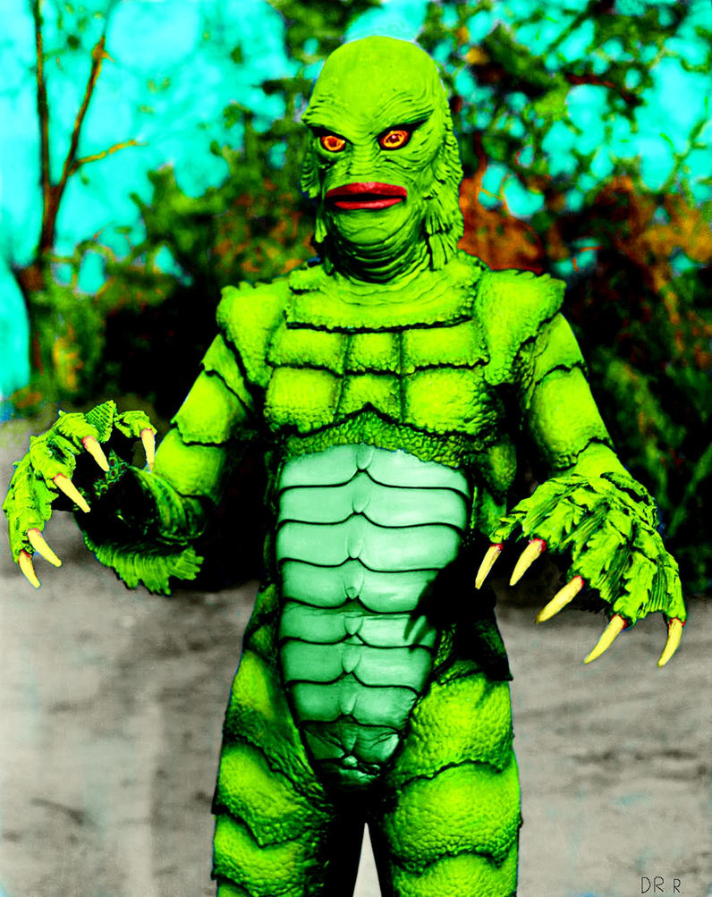 The Creature From The Black Lagoon Colorized.j by dr-realart-md on ...