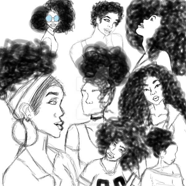 Profile Sketch Dump by bongogirl11