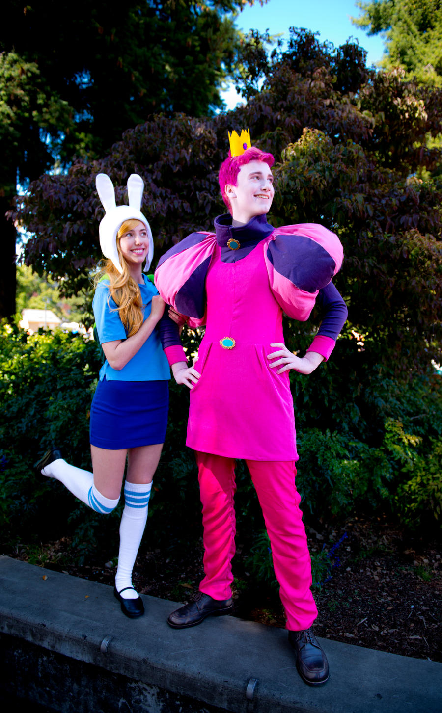 Prince Gumball And Fionna By Elitecosplay On Deviantart