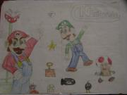 Mario Bros. by DoubleGstar