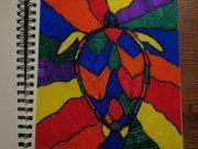 Rainbow turtle by DoubleGstar