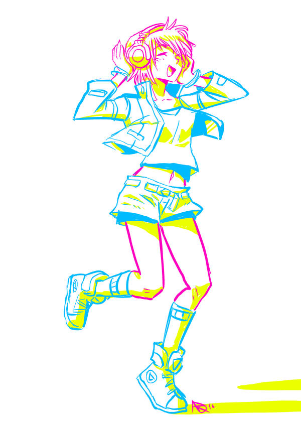 Dancing Girl by A-R-Q