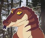 My cute crocodile icon