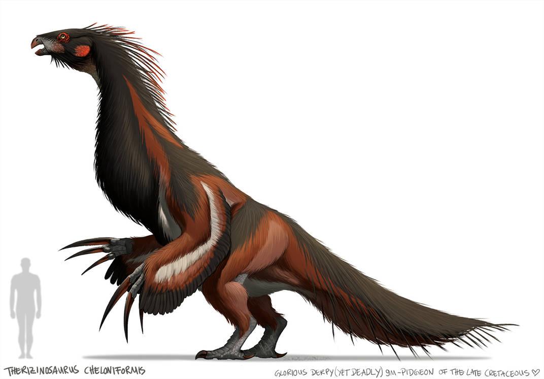 Therizinosaurus Cheloniformis by sickdelusion