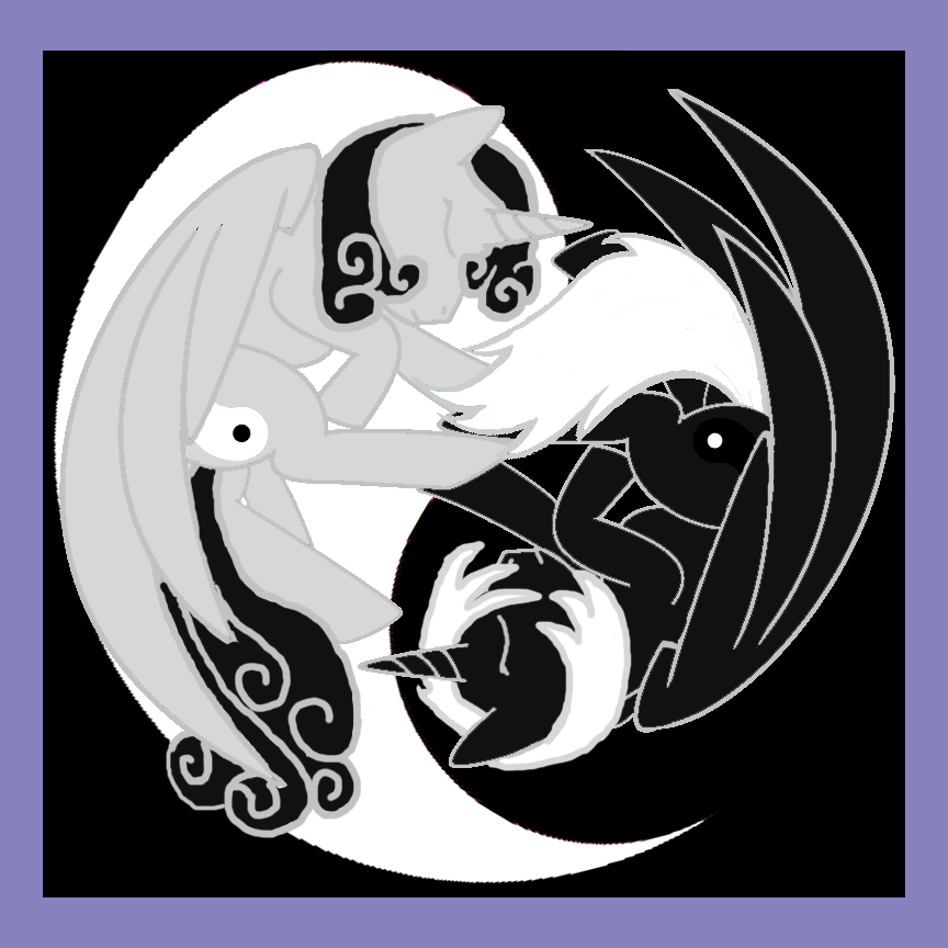 The Yin Yang Twins (A My Little Pony Fanart) by Grismalice on ...