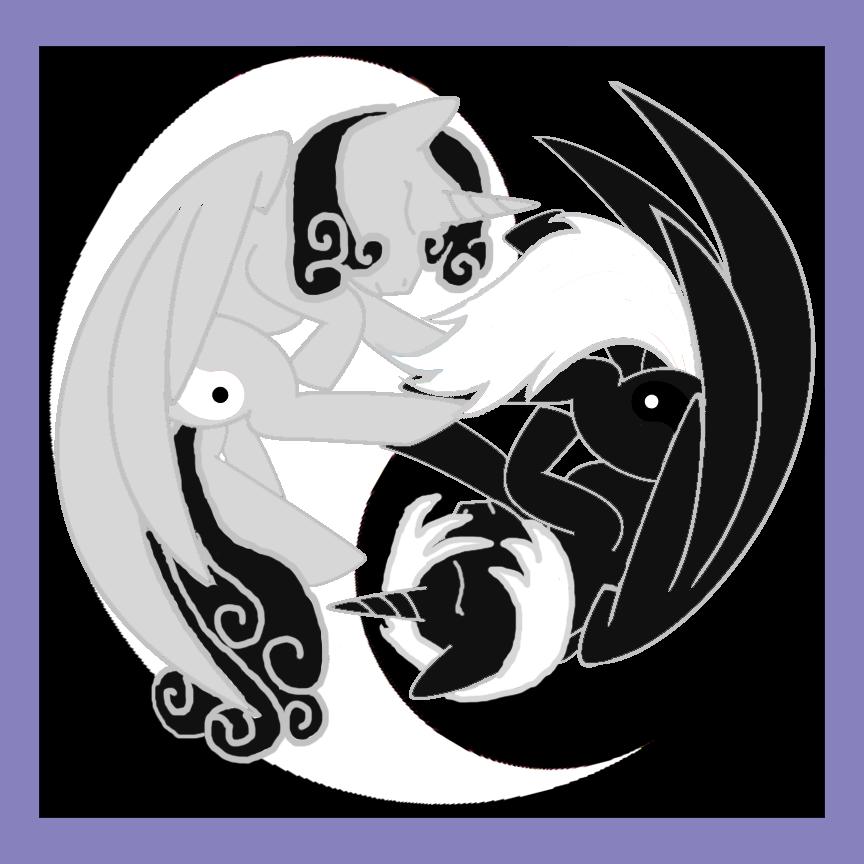 The Yin Yang Twins (A My Little Pony Fanart) by Grismalice on ...