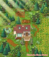 Cottage Garden (RPG Maker Map #2) by Lamentine