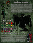 Horror OC Reference: The Black Trumper