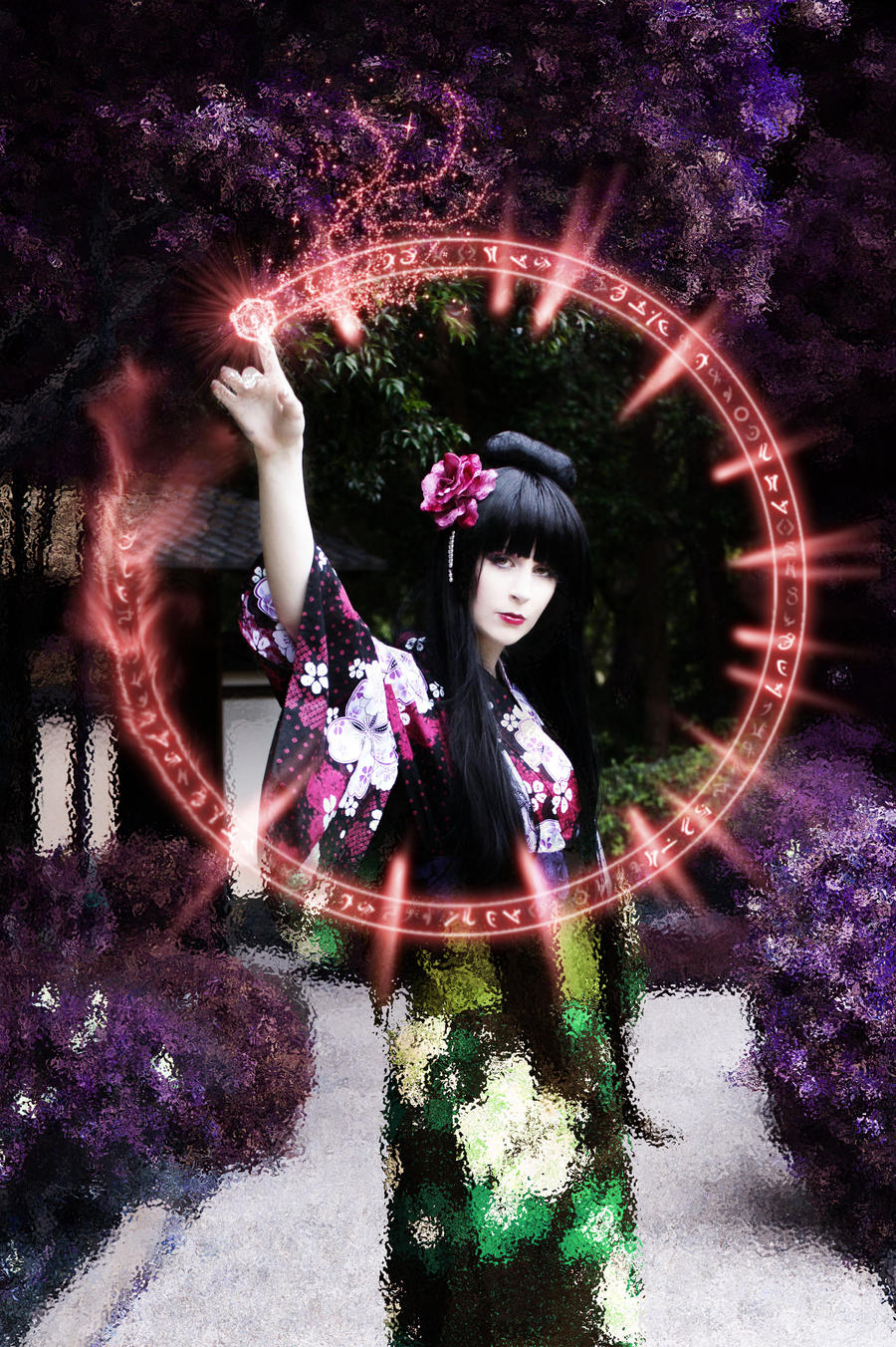 Yuuko Ichihara: Any wish by LolaInProgress