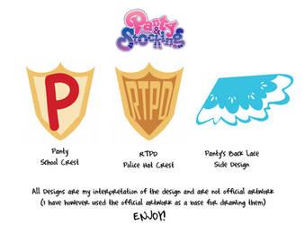 PSWG School Police Backlace by LolaInProgress