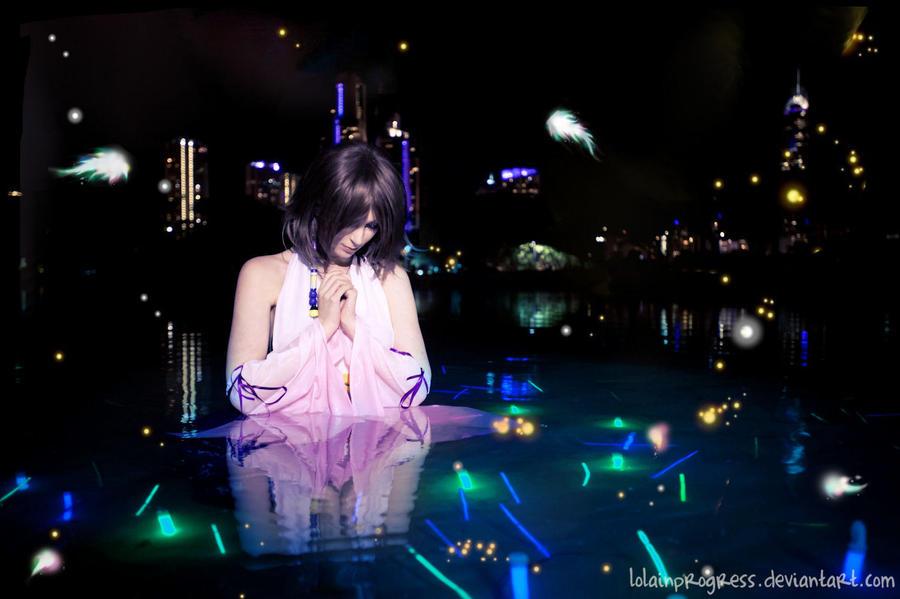 FFX YUNA: My Sorrow by LolaInProgress