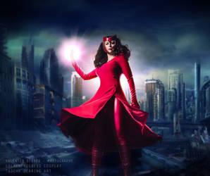 Scarlett Witch - Avengers Now by LolaInProgress