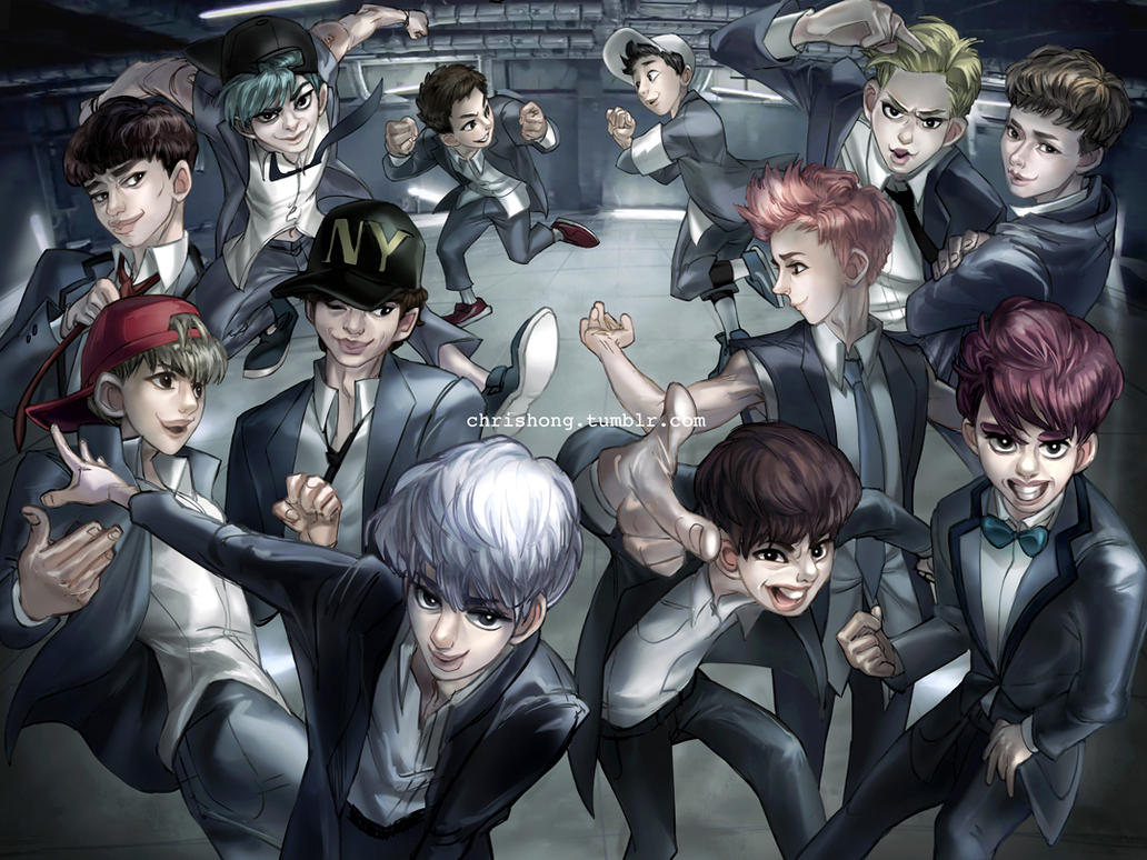 EXO - Growl by kimchii
