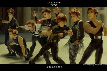 Infinite - DESTINY by kimchii