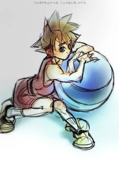 Sora and ball