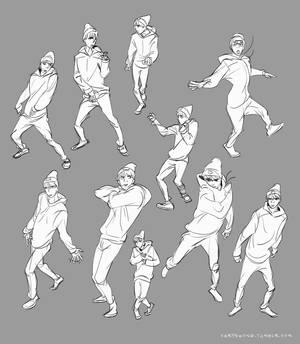 Exo Sehun Gesture Studies