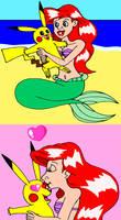 Mermay #19- Ariel Meets Pikachu