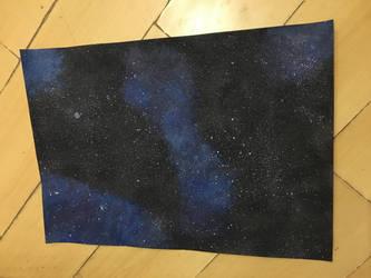 Galaxy #01 by lilianaurora